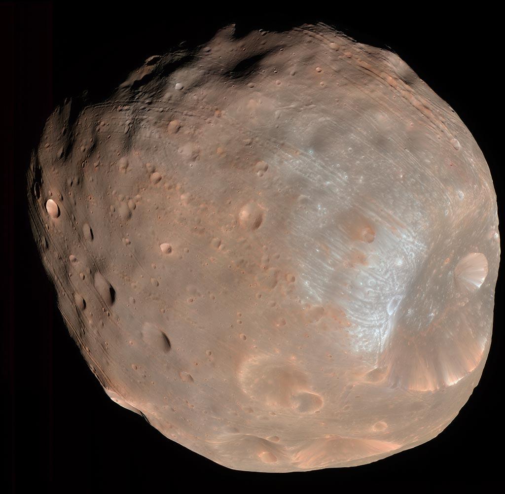 Image of Phobos.