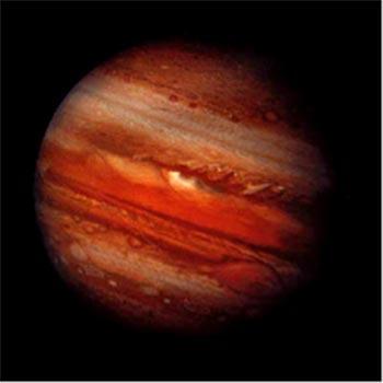 Image of Gas Giant Planet Jupiter.