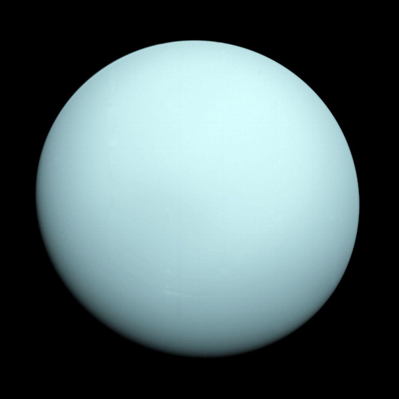 Image of Gas Giant Planet Uranus.