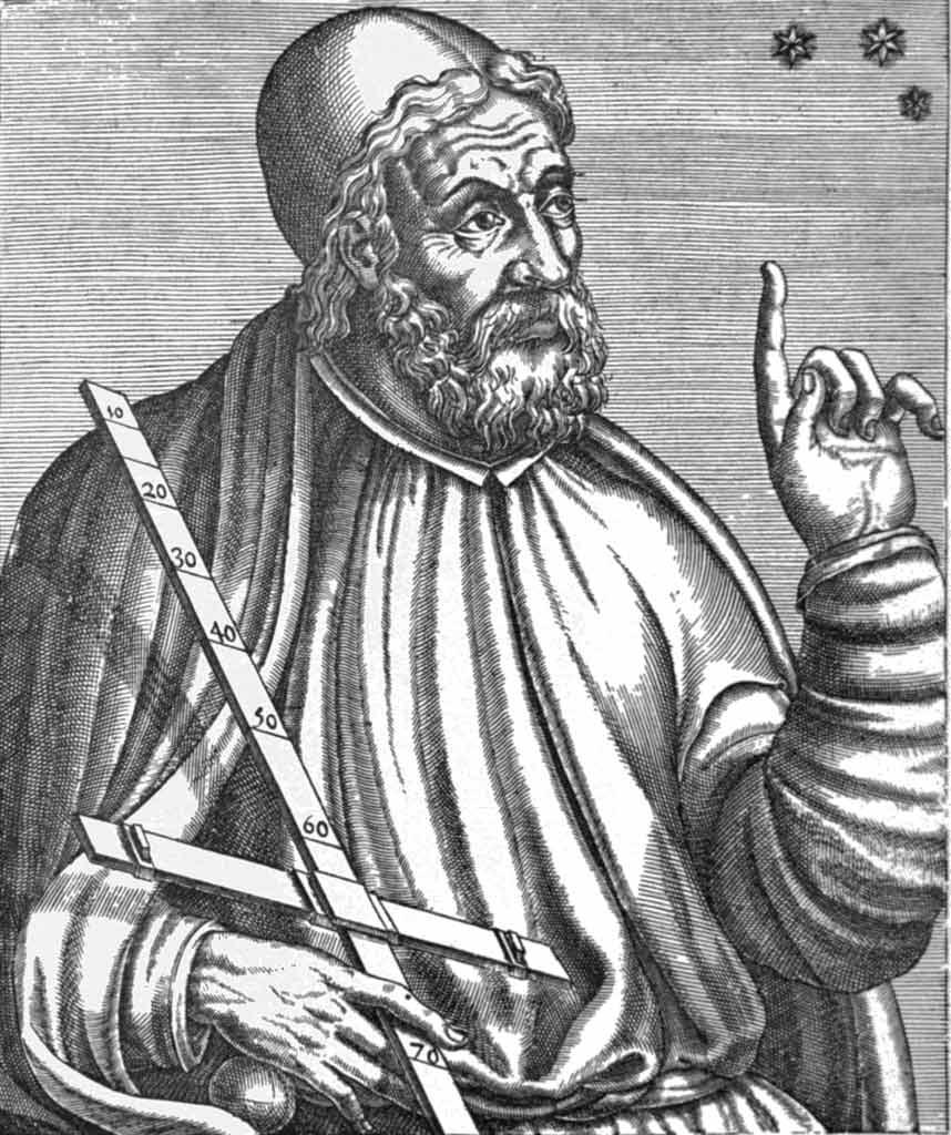 An artists rendering of Claudius Ptolemy
