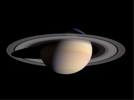Image of Saturn's Rings.