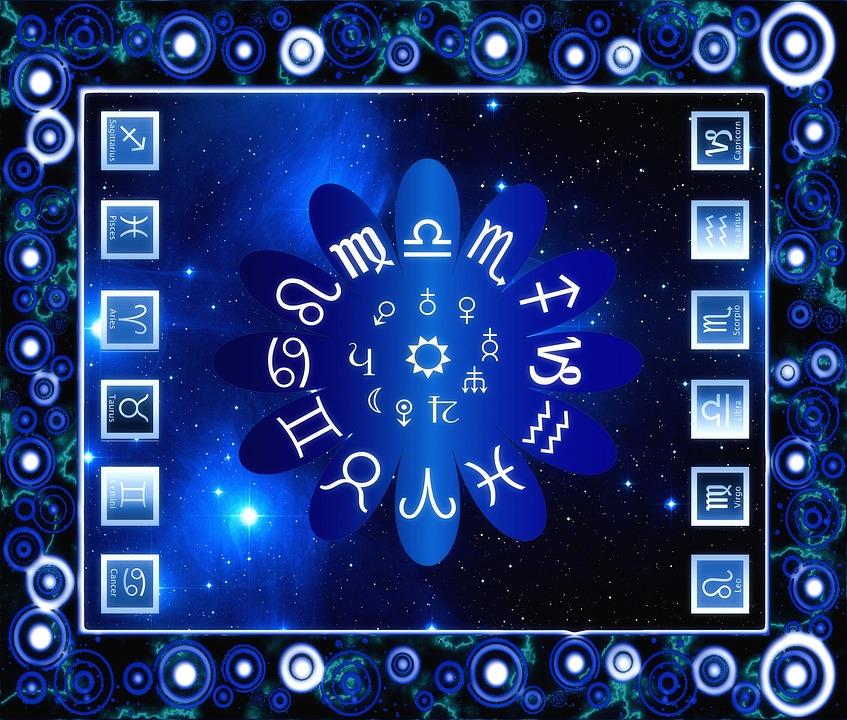 Image of all the Zodiac Signs, including Sagittarius, Aquarius, Pisces, Aries, Taurus, Gemini, Cancer, Leo, Virgo, Libra, Scorpio, and Capricorn.