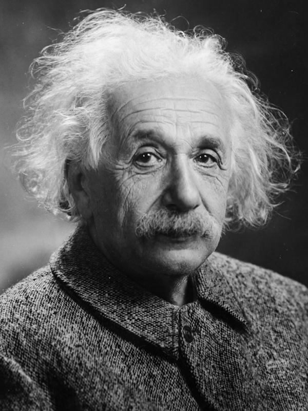 Image of Albert Einstein.