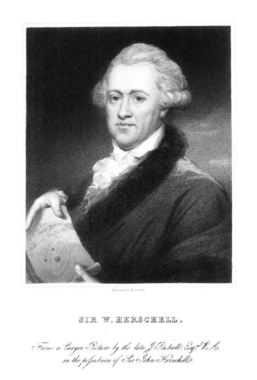 Image of astronomer Frederick William Herschel.