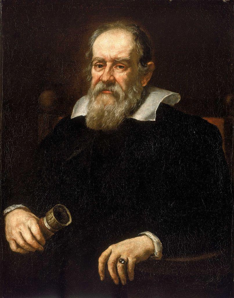 Image of a portrait of Galileo Galilei.