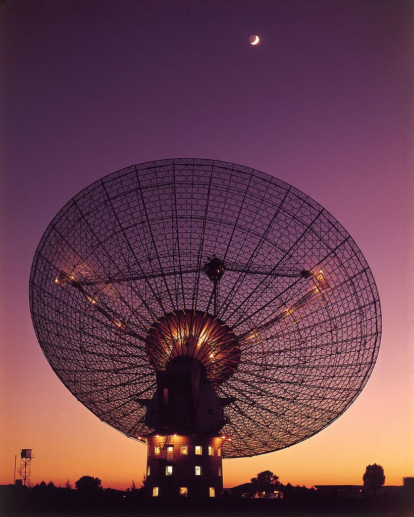 Graphic of CSIRO's Parkes radio telescope.
