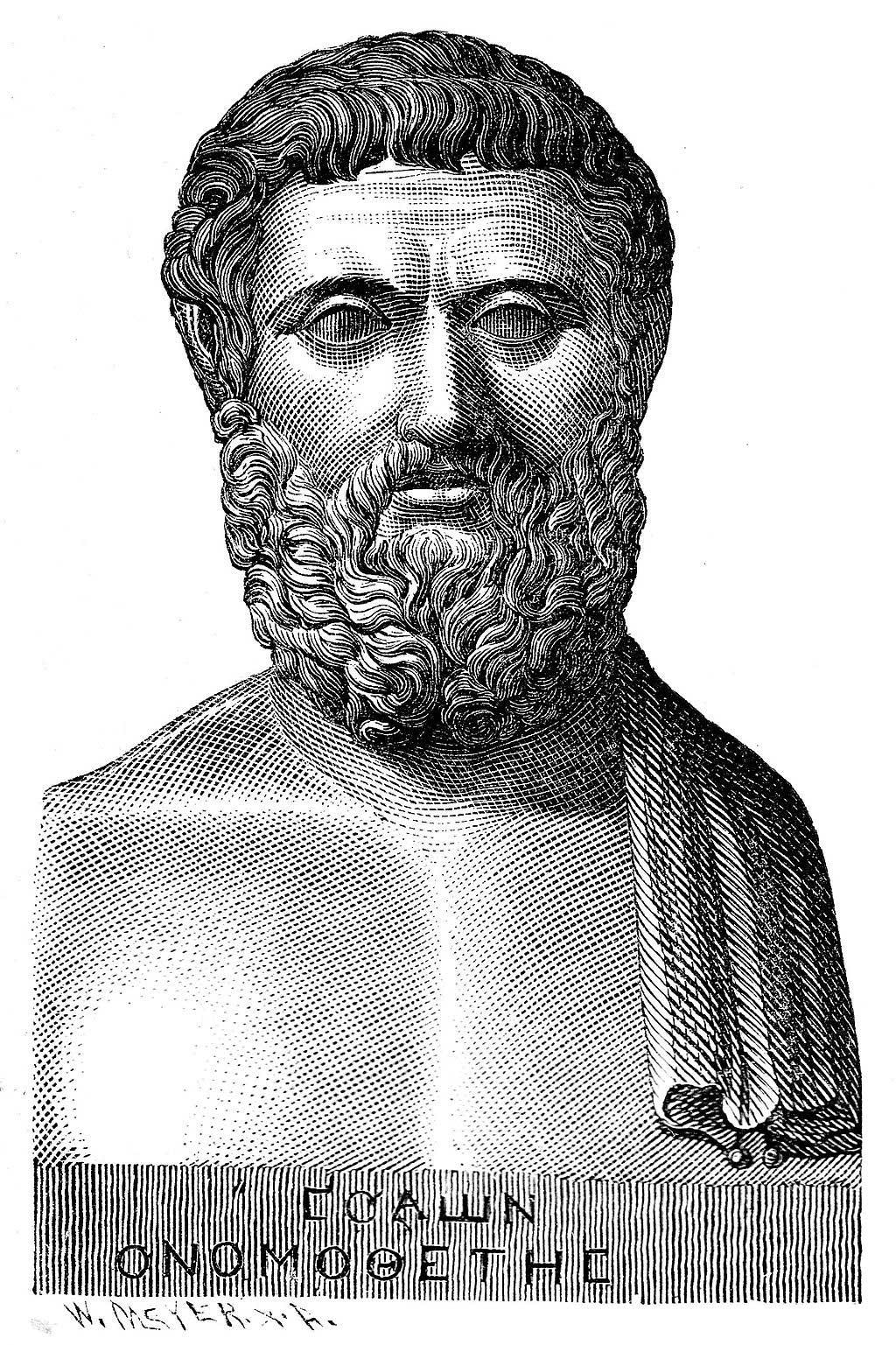 Illustration of Solon