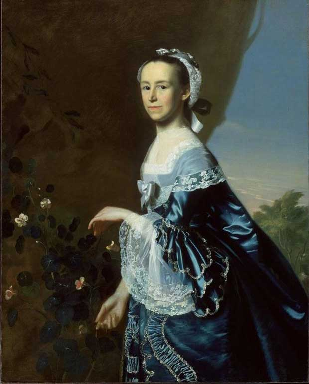 Portrait of Mercy Otis Warren