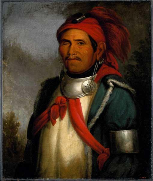 Portrait of the Shawnee Prophet Tenskwatawa