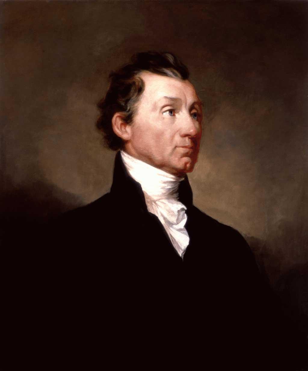 Official White House portrait of James Monroe