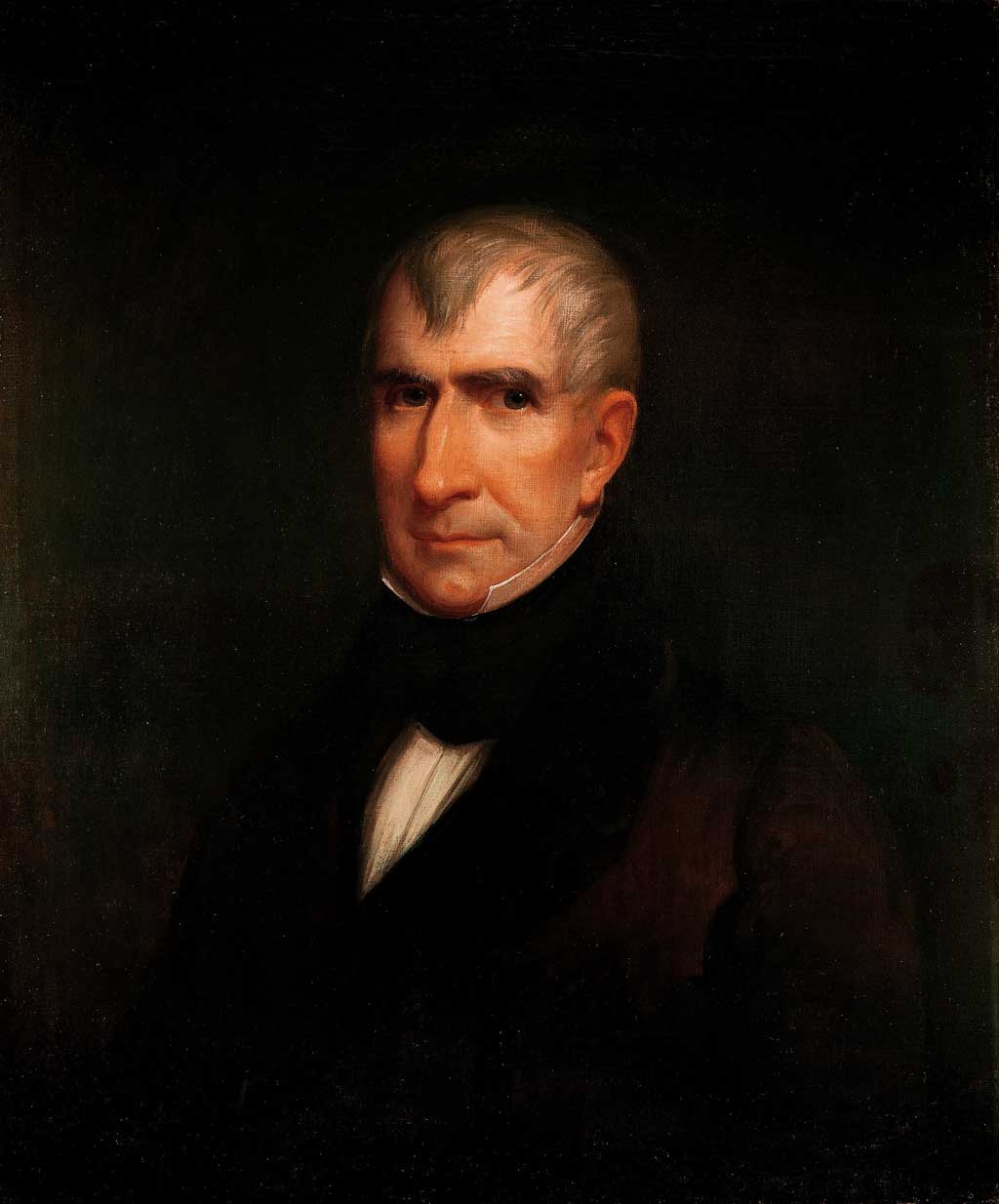 Official White House Portrait of William Henry Harrison
