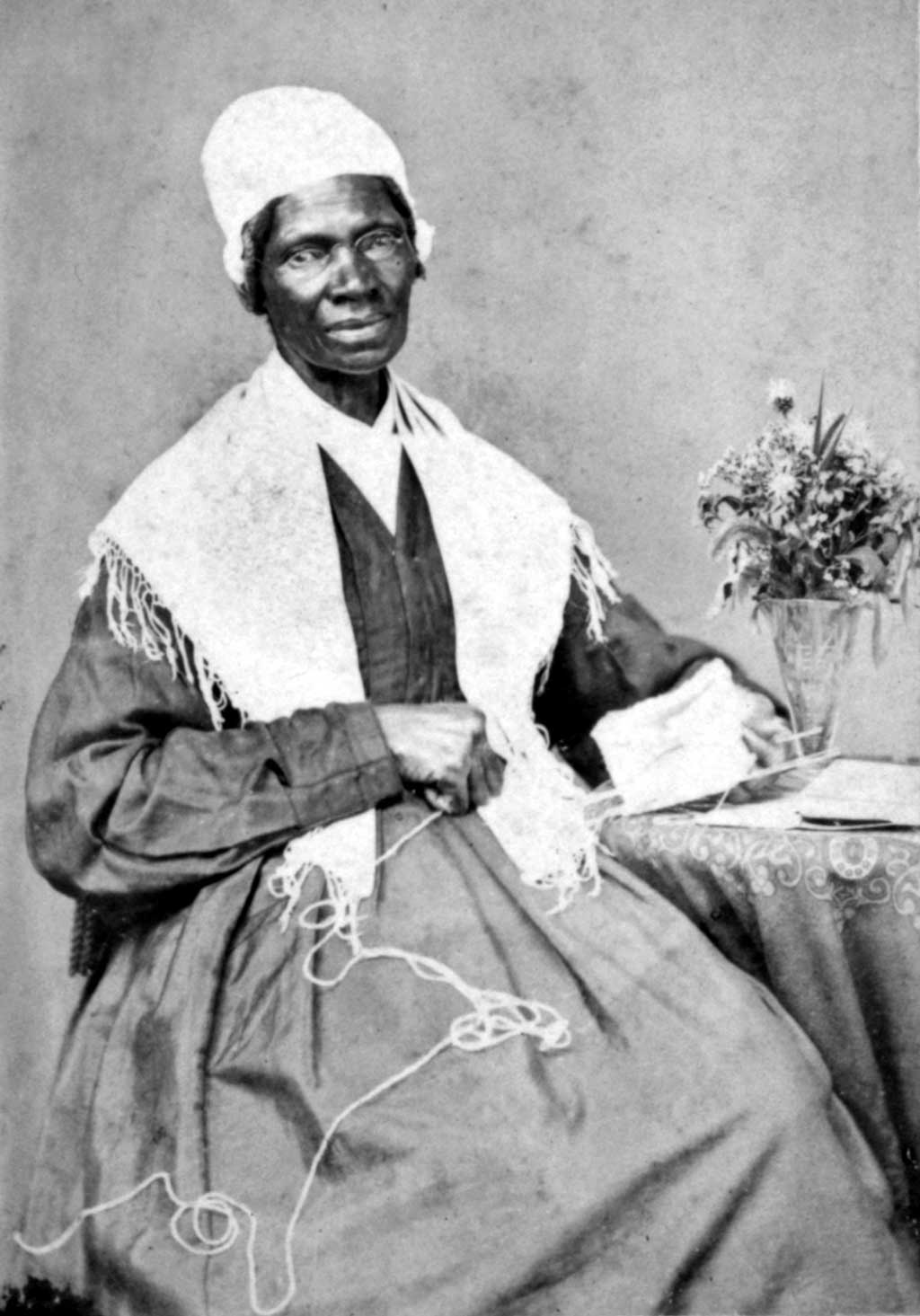 Photograph of Sojourner Truth in 1864