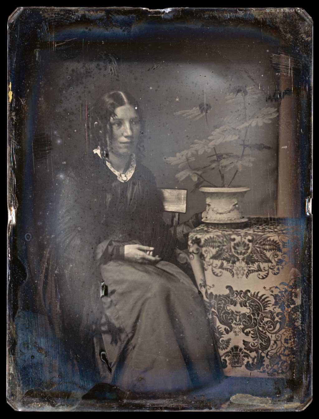 Daguerreotype of Harriet Beecher Stowe