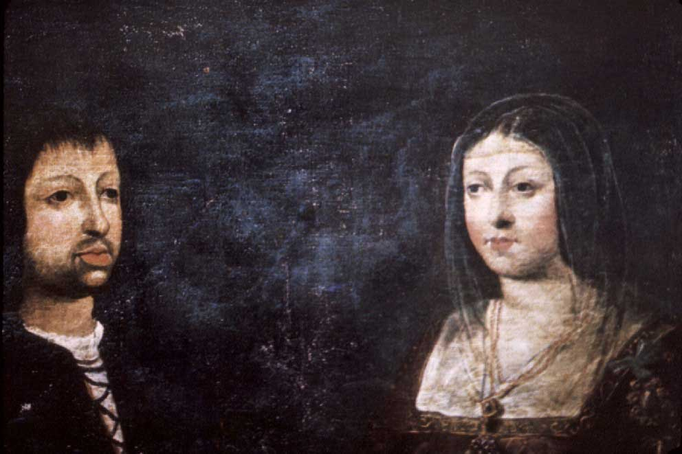Wedding portrait of King Ferdinand of Aragon and Queen Isabella of Castile, 1469