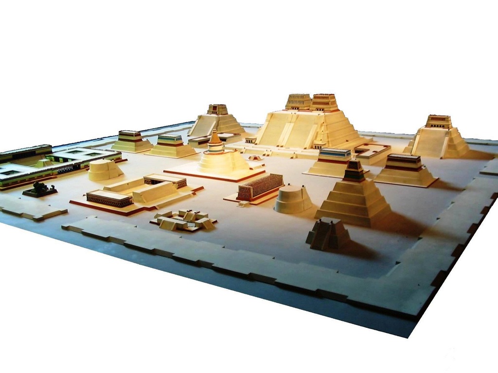 Model of the Aztec City of Tenochtitlan at the National Museum of Anthropology in Mexico City