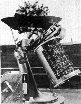The Zeiss Mark I Planetarium Projector is shown.