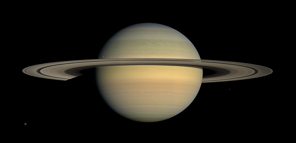Saturn is shown.