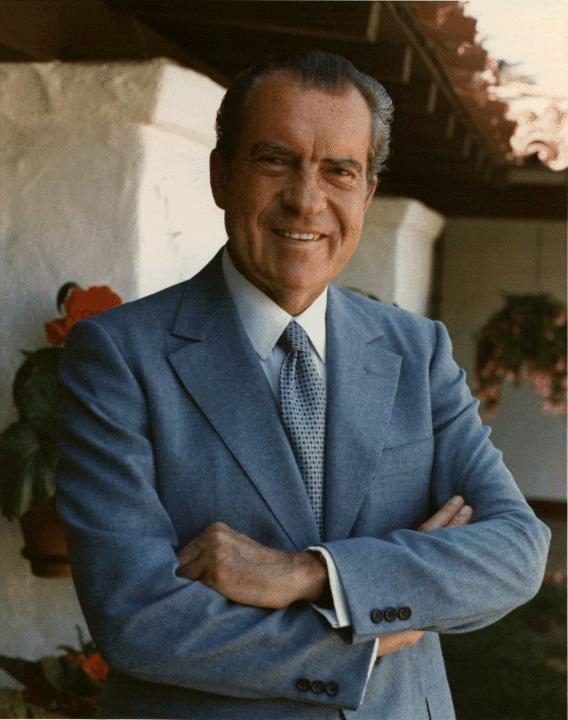 President Richard Nixon, July 09, 1972